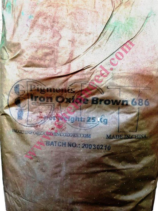 کیسه پیگمنت اکسید آهن قهوه ای 686 686