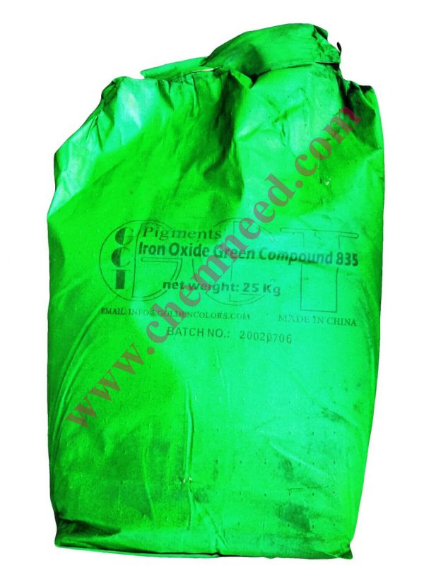 فروش اکسید آهن سبز - کیسه اکسید آهن سبز