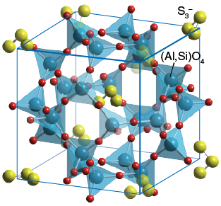 ساختار پیگمنت آبی لاجورد