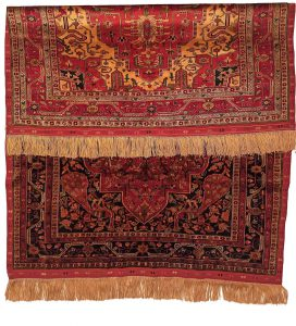 Handmade all silk altar rugs