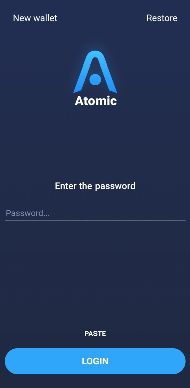 AtomicLogin