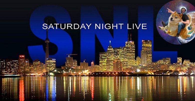 ایلان ماسک - دوج کوین - SNL