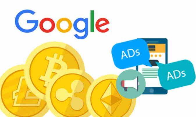 تبلیغات بیت کوین - گوگل - ارز دیجیتال