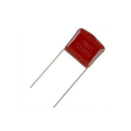 خازن-پلی-استر-1-میکروفاراد-400-ولت-بسته-5-تایی