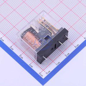 رله 12 ولت 10 آمپر یک تک 1 کنتاکت 5 پایه رله 12 ولت dc خرید اینترنتی قیمت فروش انواع رله شیشه ای امرن امرون g2r-1 omron