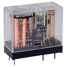 رله 12ولت 10 آمپر شیشه ای omron رله g2r-1 امرن