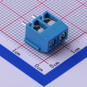ترمینال kf301 ترمینال پیچی روبردی آبی رنگ mx301 ترمینال 301 ترمینال نردبانی آسانسوری یک تیکه