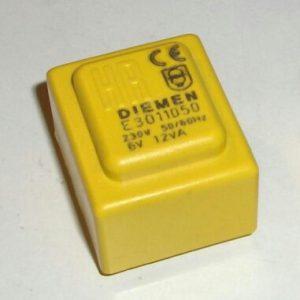 ترانس 230 ولت 220 ولت ترانس روبردی زرد رنگ