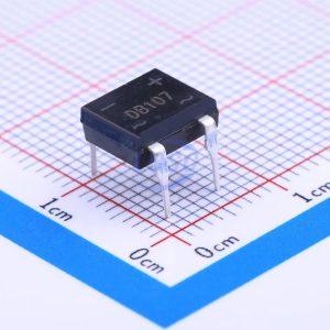 پل دیود مربعی پل دیود 1000 ولت 1 آمپر DB107
