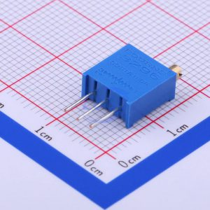 مولتی ترن 10 کیلو اهم ایستاده پتانسیومتر آبی رنگ BOURNS-3296W-1-103 مدرن الکترونیکز