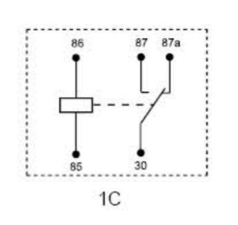 پایه های رله ماشین نحوه اتصال نصب رله ماشین برق کشی ماشین نقشه رله ماشین