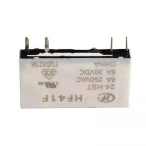 رله پی ال سی رله plc HF41F-24-HST-Micro-PCB-Mount-Power-Relay-24V-6A-4-Pin-HF41-024-Voltage