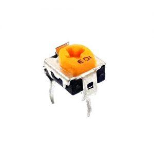 پتانسیومتر پاناسونیکی نارنجی رنگ پتانسیومتر رو بردی