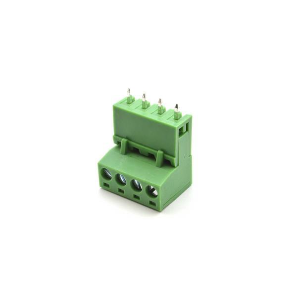 ترمینال 4 پین نری صاف 5.08mm ترمینال فونیکس ترمینال نری مادگی سبز رنگ 4 چهار پایه ptr