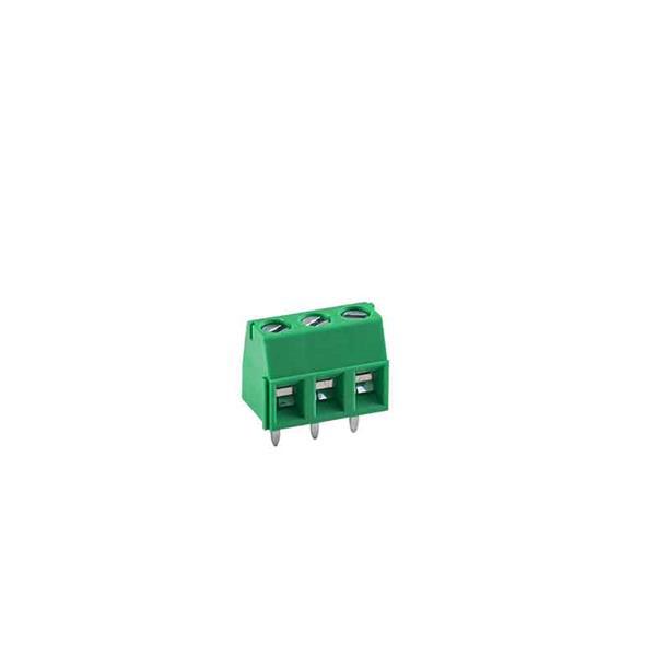 ترمینال mx127 سه پین روبردی کوچک سبز رنگ ترمینال آسانسوری ترمینال kf127
