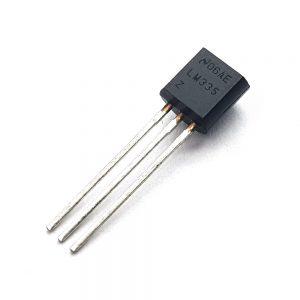 سنسور lm335 سنسور دما 3 پایه پلاستیکی