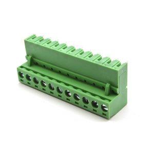 ترمینال فونیکس 11 پین رایت انگل ترمینال 90 درجه ترمینال 11 پایه سبز