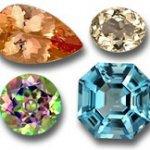 سنگ توپاز اصل سنگ ماه تولد آبان انگشتر توپاز قیمت هر قیراط توپاز هفت رنگ