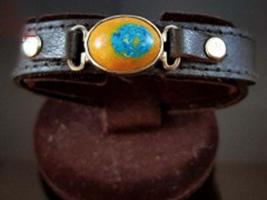 دستبند چرم مولتی کد 131004