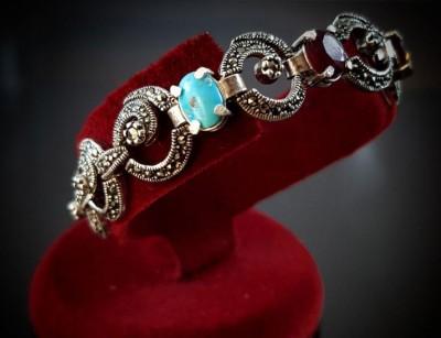 دستبند نقره زنانه و دخترانه جواهرات قیمتی