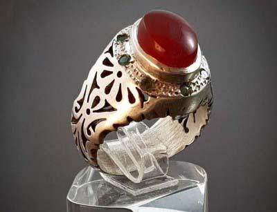انگشتر نقره عقیق یمنی اصل