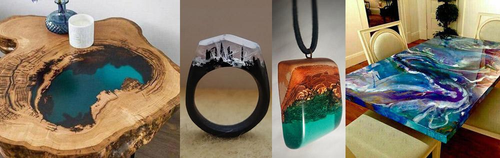 خط تولید وودگلس و جواهرات رزینی