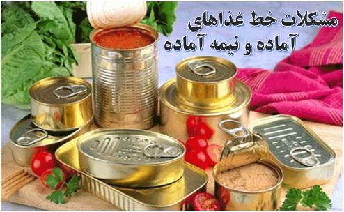 تولید غذاهای نیمه آماده ✔️ محصولات غذایی نیمه آماده ✔️ غذاهای نیمهاماده فریزری ✔️ صنایع غذایی نیمه آماده ✔️ سرمایه لازم برای راه اندازی خط تولید غذا آماده و نیمه آماده