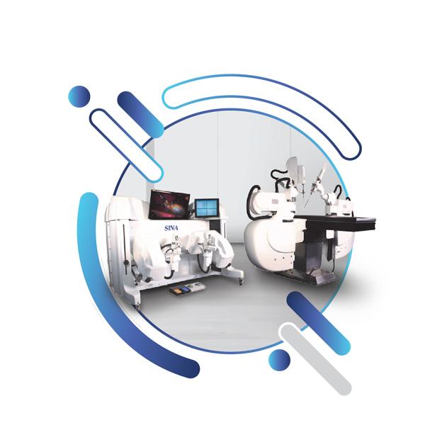 Sina: Robotic Telesurgery System (Straight model)