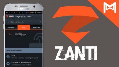 دانلود zAnti برای هک گوشی دیگران و شبکه وای فای - Android Network Toolkit