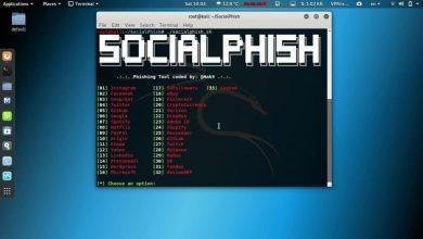 هک اینستاگرام با کالی لینوکس