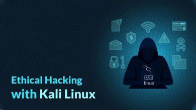 کالی لینوکس ابزار برای تست نفوذ و هک دارد؟