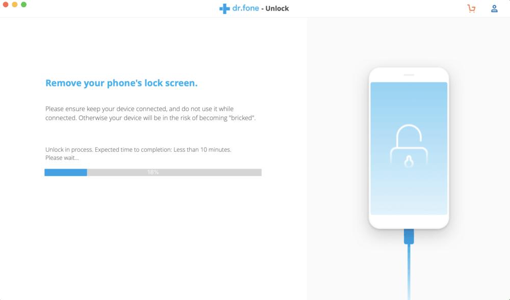 باز کردن رمز گوشی با استفاده از برنامه