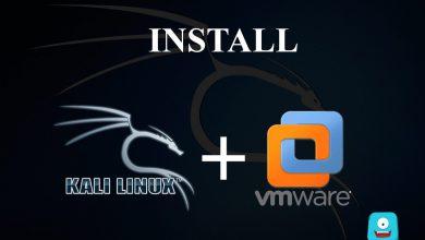 آموزش نصب کالی لینوکس در vmware