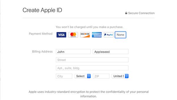 خرید اپل آیدی آنلاین - خرید اپل آیدی آماده