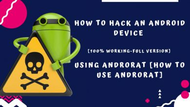 هک گوشی با hotspot