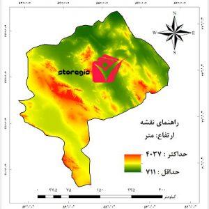 دانلود نقشه ارتفاع استان یزد