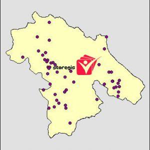 دانلود شیپ فایل معادن استان کهگیلویه و بویراحمد
