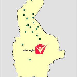 دانلود شیپ فایل معادن استان سیستان و بلوچستان