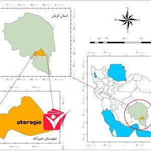 دانلود فایل موقعیت شهرستان عنبرآباد
