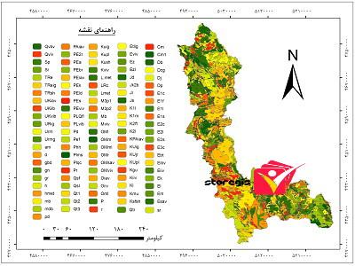دانلود نقشه زمین شناسی استان آذربایجان غربی
