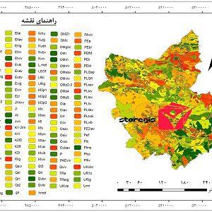 دانلود نقشه زمین شناسی استان آذربایجان شرقی