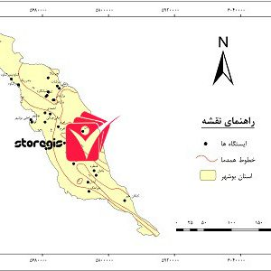 دانلود نقشه همدما استان بوشهر