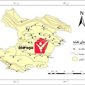 دانلود نقشه همدما استان قزوین