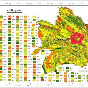 دانلود نقشه زمین شناسی استان خراسان رضوی