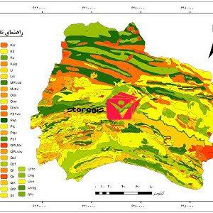 دانلود نقشه زمین شناسی استان خراسان شمالی