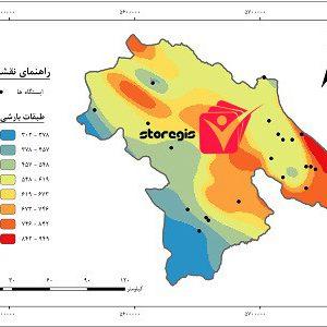 دانلود نقشه طبقات بارشی استان کهگیلویه و بویراحمد