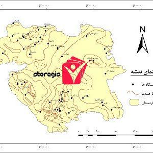 دانلود نقشه همدما استان کردستان
