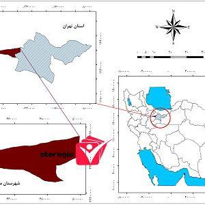 دانلود نقشه موقعیت شهرستان ملارد