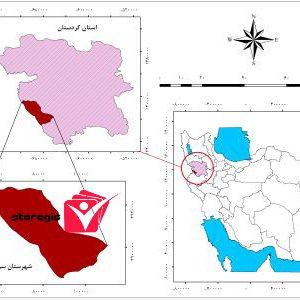 دانلود نقشه موقعیت شهرستان سروآباد