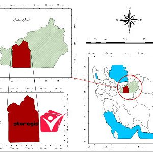 دانلود نقشه موقعیت شهرستان سمنان